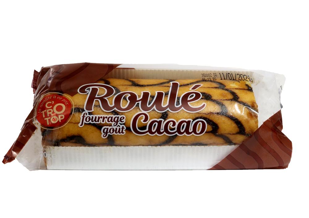 Roulé fourrage goût cacao